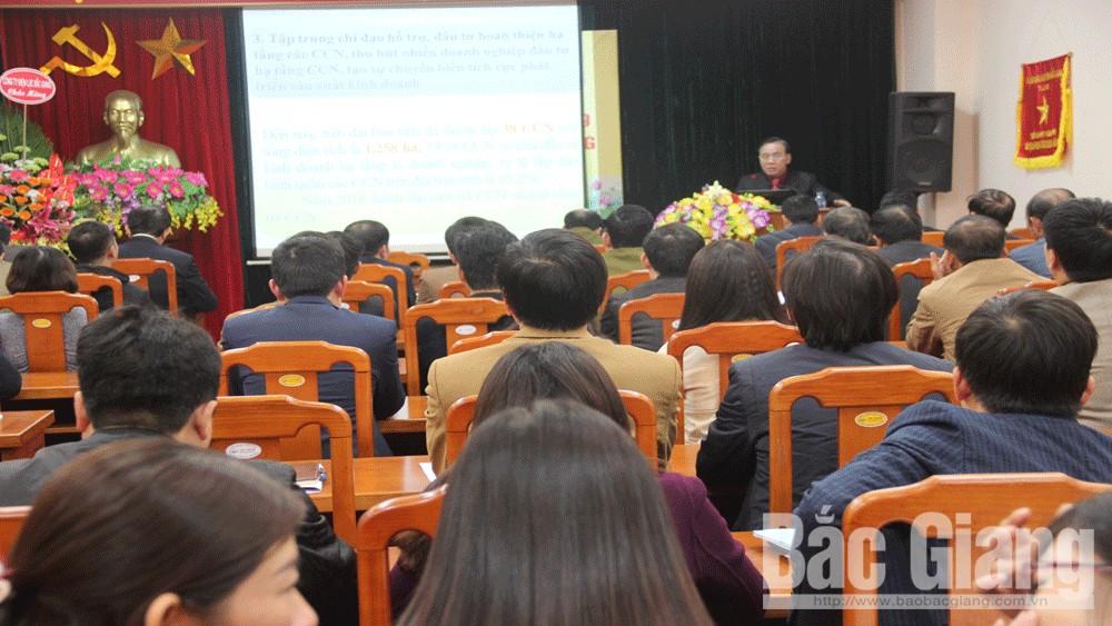 Phấn đấu đạt mục tiêu hơn 171 nghìn tỷ đồng, giá trị sản xuất công nghiệp tỉnh Bắc Giang
