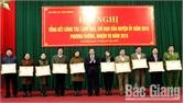 Huyện uỷ Sơn Động triển khai nhiệm vụ công tác xây dựng Đảng năm 2019
