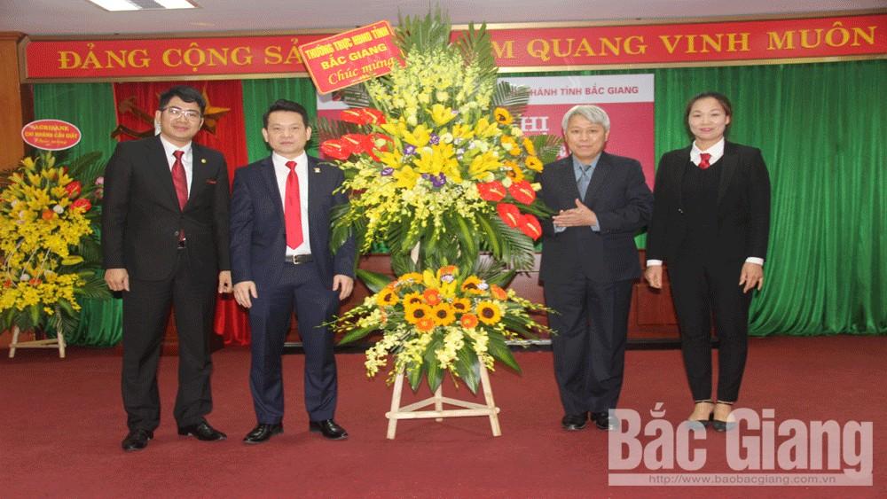 Công bố quyết định bổ nhiệm Giám đốc, các Phó Giám đốc Ngân hàng Nông nghiệp và PTNT chi nhánh tỉnh Bắc Giang