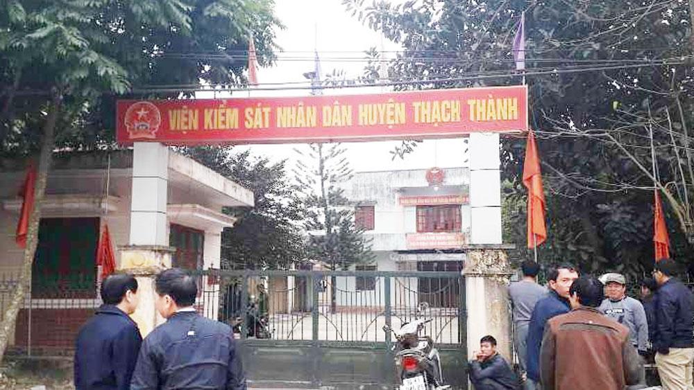 Phó Viện trưởng Viện kiểm sát nhân dân huyện ở Thanh Hóa, chết treo cổ tại cơ quan, UBND huyện Thạch Thành