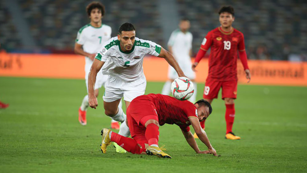 Sự khác biệt, đội tuyển, giải trẻ, Iraq, Iran, Asian Cup 2019