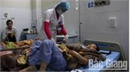 Bệnh viện Đa khoa tỉnh vừa cấp cứu ca tai nạn lao động nghiêm trọng