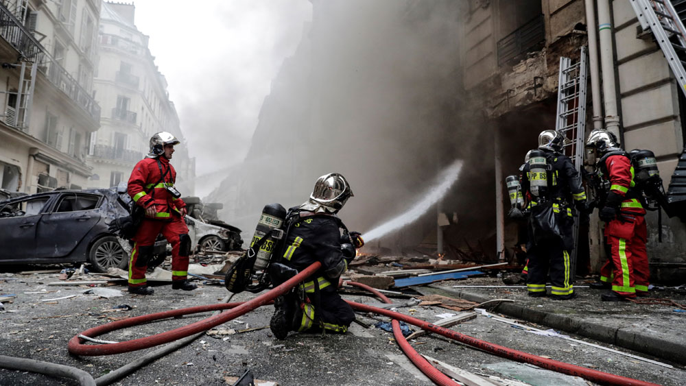 Vụ nổ tại trung tâm Paris, đẩy mạnh, công tác cứu hộ, xác nhận, trường hợp thiệt mạng