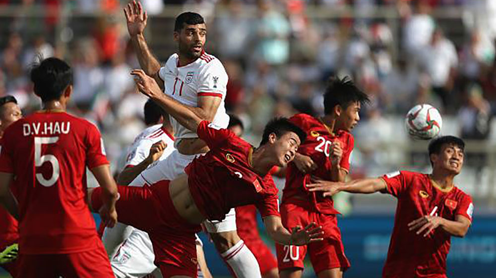 Việt Nam, Iran, Asian Cup 2019