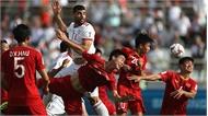"""""""Messi Iran"""" tỏa sáng, tuyển Việt Nam thua trận thứ hai ở Asian Cup"""