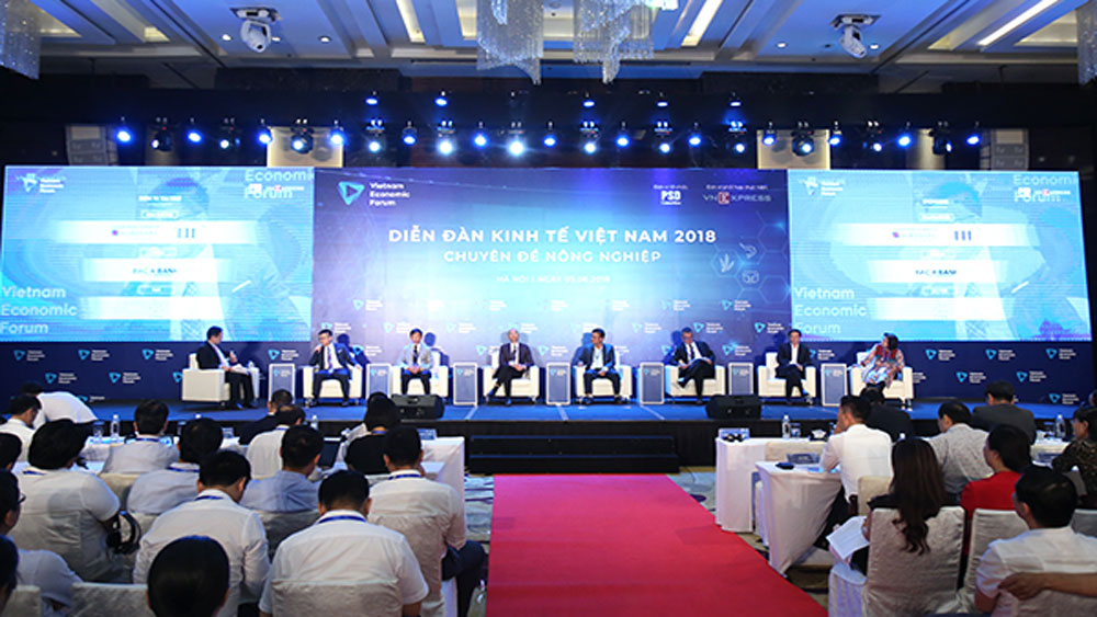 Vietnam Economic Forum, take place, Vietnamese economy's development, breakthrough measures, economic growth, high-level policy dialogue, infrastructure development