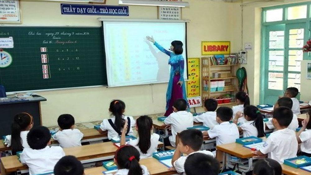 Kiểm tra thông tin cho học sinh yếu ở nhà khi thi giáo viên dạy giỏi