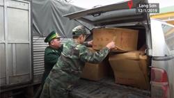 Hơn hai tấn pháo nổ bị bắt giữ ở Lạng Sơn