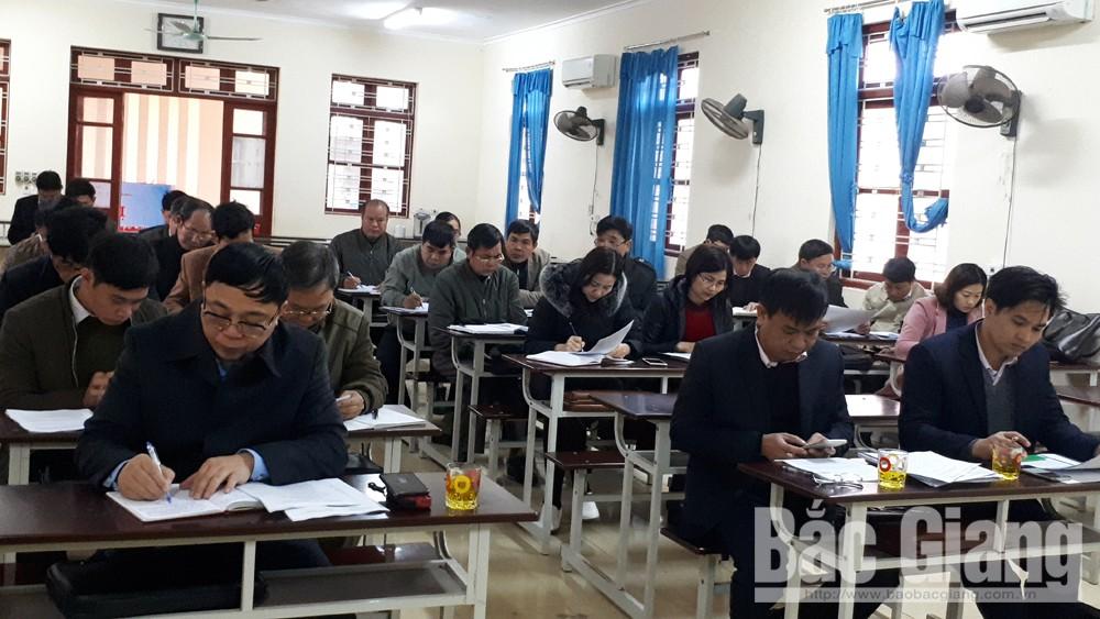 Liên đoàn Lao động huyện Lục Nam triển khai nhiệm vụ năm 2019