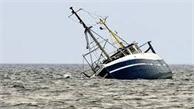 Một tàu cá Bình Thuận bị chìm, hai ngư dân mất tích