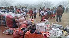 Trường THCS Tam Dị, huyện Lục Nam (Bắc Giang) mang hơi ấm đến Tà Xùa