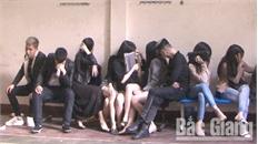 Công an TP Bắc Giang bắt quả tang nhóm đối tượng sử dụng ma túy trong nhà nghỉ