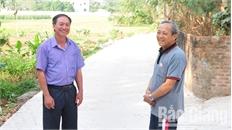 Ông Nguyễn Tiến Tuấn - Bí thư Chi bộ thôn Tân An-hạt nhân đoàn kết ở khu dân cư