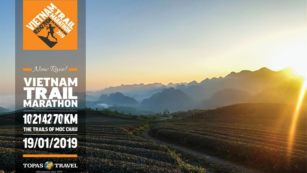 Vietnam Trail Marathon, Moc Chau, 1,900 runners, Son La province, biggest event, wide range of distances