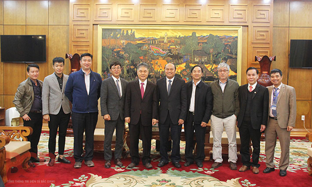 RoK's company, investment opportunities, Bac Giang province, investment policies, industrial development orientation, foreign investors