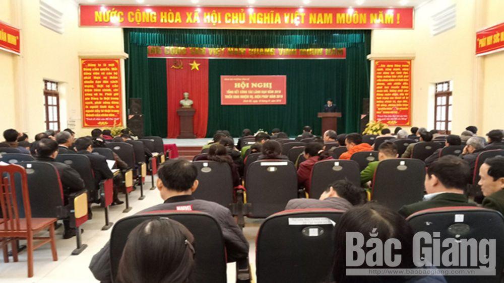 Đảng ủy phường Dĩnh Kế hoàn thành tốt các nhiệm vụ năm 2018