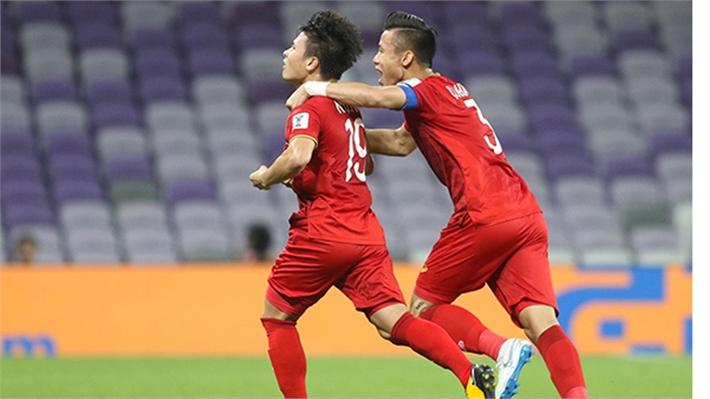 Việt Nam-Yemen (hiệp 1): Quang Hải mở tỷ số,  tuyển Việt Nam dẫn trước 1-0