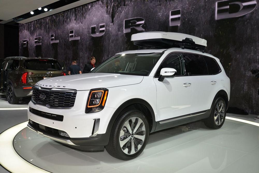 Kia Telluride 2020, SUV cỡ lớn của Kia, hãng xe Hàn Quốc, Detroit Auto Show 2019, SUV