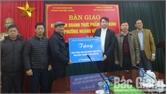 Bàn giao Khu kinh doanh thực phẩm Vĩnh Ninh (TP Bắc Giang)