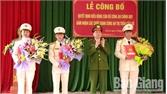 Công an chính quy nhận nhiệm vụ tại thị trấn Cầu Gồ và thị trấn Bố Hạ