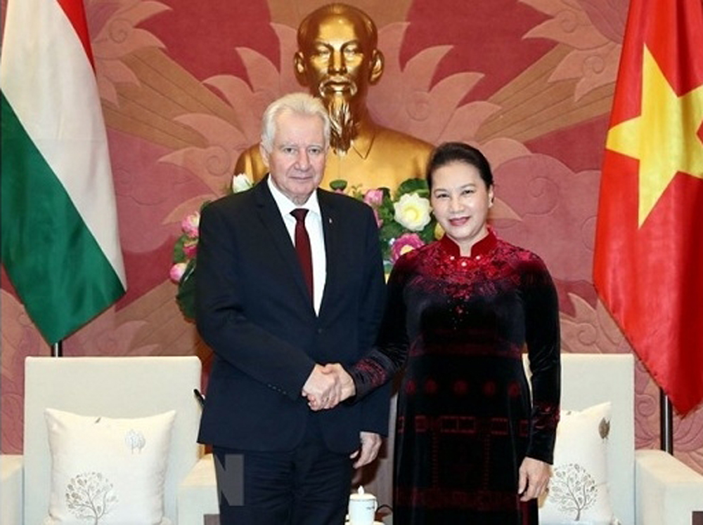 NA leader, Hungary's support, EVFTA approval, Chairwoman Nguyen Thi Kim Ngan, Hungarian parliament's support, new cooperation opportunities, traditional multifaceted partnership, strong performances