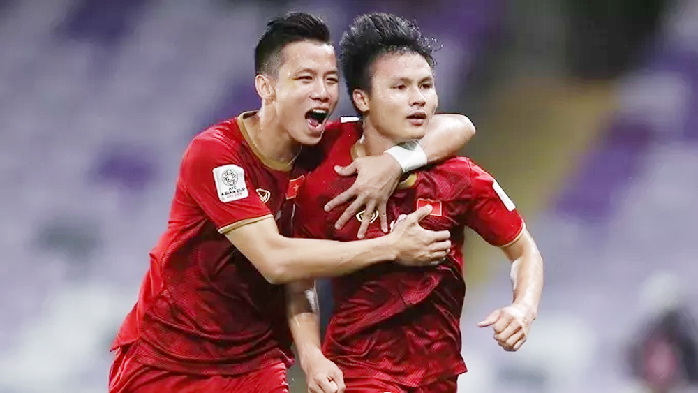 Vietnam, Asian Cup round, thrilling fashion, better disciplinary points, early advantage, resounding triumph