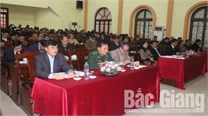 Tân Yên: Tổng kết công tác lãnh đạo của Huyện ủy và phong trào thi đua yêu nước