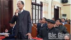Thành uỷ Bắc Giang giao ban với bí thư chi bộ thôn: Nhiều ý kiến về kiện toàn chức danh thôn, tổ dân phố; trật tự đô thị, môi trường