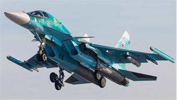 Nga tìm thấy một phi công trong vụ hai máy bay Su-34 đâm nhau
