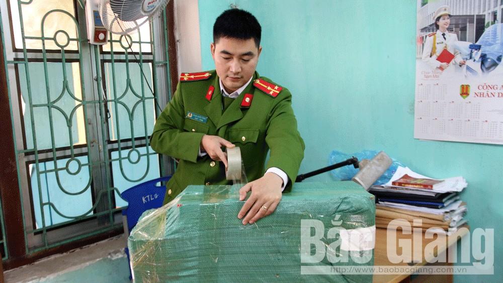 Công an huyện Lạng Giang, Mua bán pháo, Bắt giữ đối tượng mua bán pháo nổ