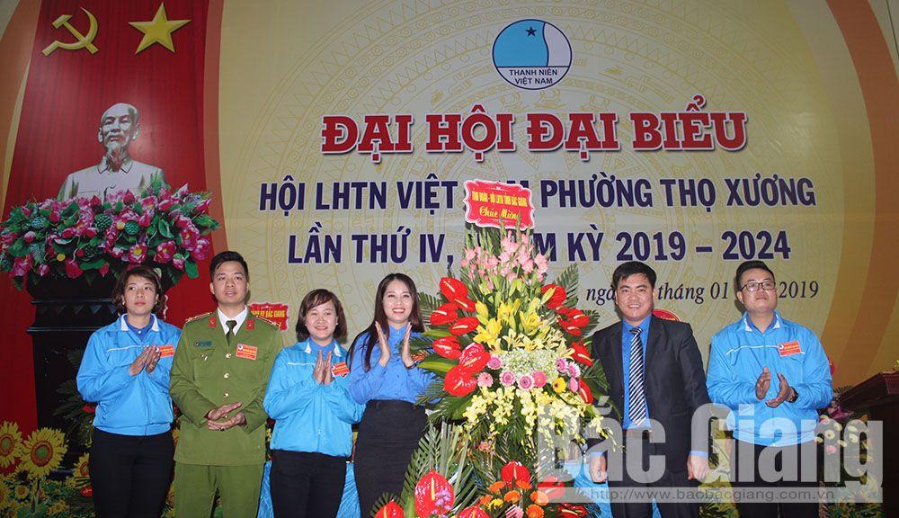 Bắc Giang, TP Bắc Giang, Hội Liên hiệp Thanh niên, thanh niên, đại hội điểm, Thọ Xương