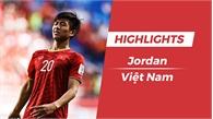 Highlights Asian Cup 2019: Jordan 1-1 Việt Nam