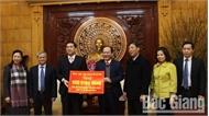 Các cơ quan, đơn vị thăm, chúc Tết tỉnh Bắc Giang