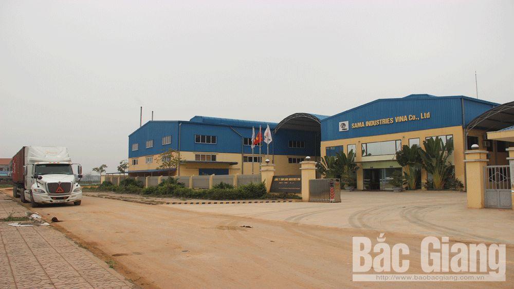Cụm công nghiệp, doanh nghiệp, đầu tư, hạ tầng cịm công nghiệp, Quốc Phương, Bắc Giang