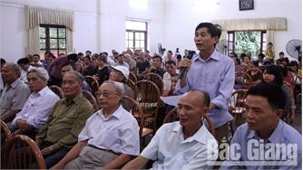 Đổi mới hoạt động tiếp xúc cử tri sau kỳ họp HĐND