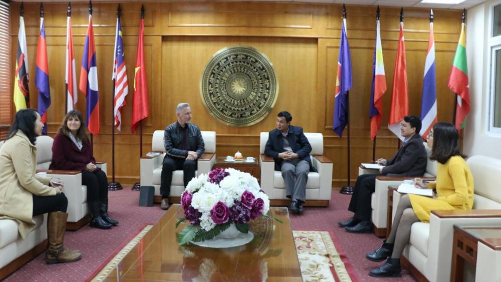 Capacity Vietnam visits Bac Giang province