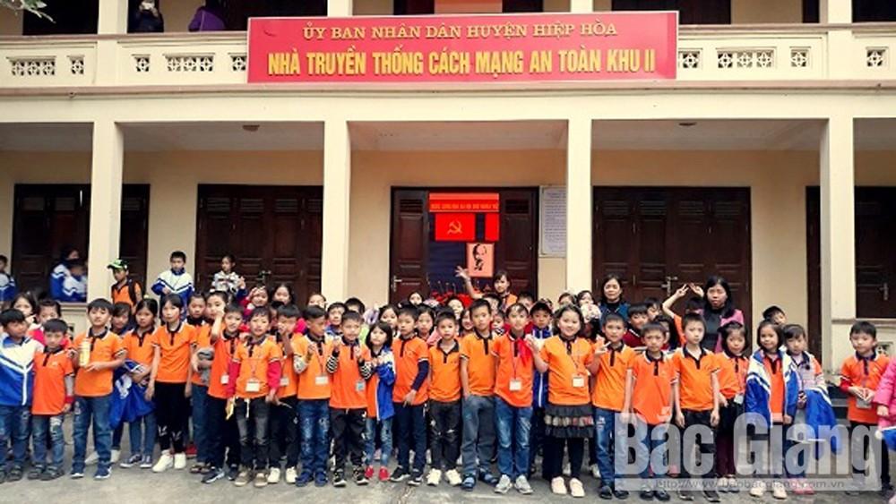 Huyện Hiệp Hòa, học sinh, trải nghiệm tại các di tích lịch sử