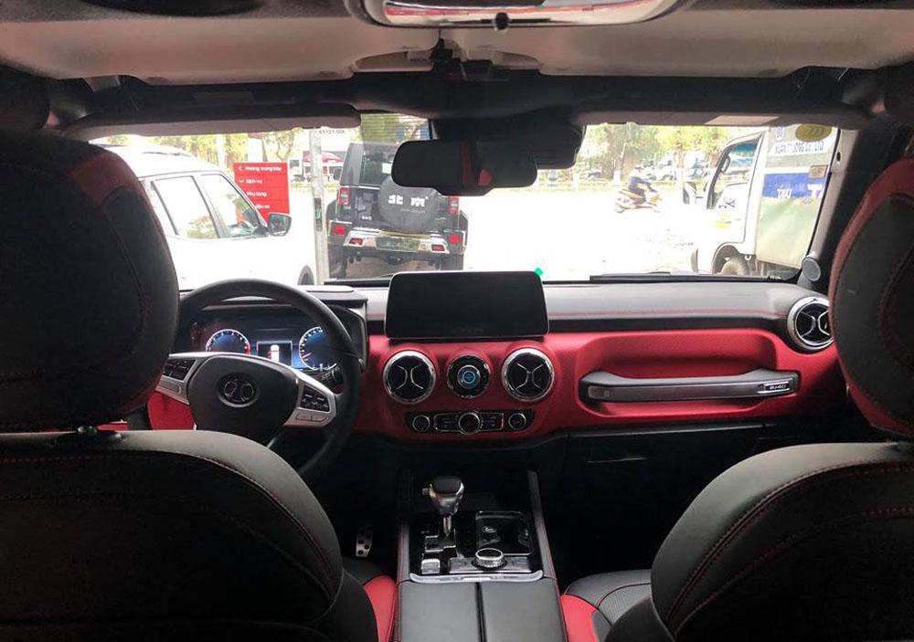 BAIC BJ40L Jeep, Mercedes G-class, Mercedes, xe sang, xe địa hình, Mazda CX-5, Honda CR-V, xe đa dụng