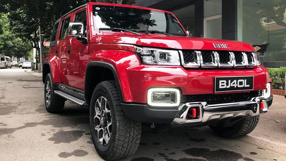 BAIC BJ40L - xe Trung Quốc nhái Mercedes và Jeep về Việt Nam