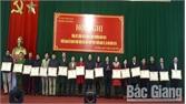 Huyện Sơn Động khen thưởng 60 tập thể, 106 cá nhân có thành tích xuất sắc trong phong trào thi đua