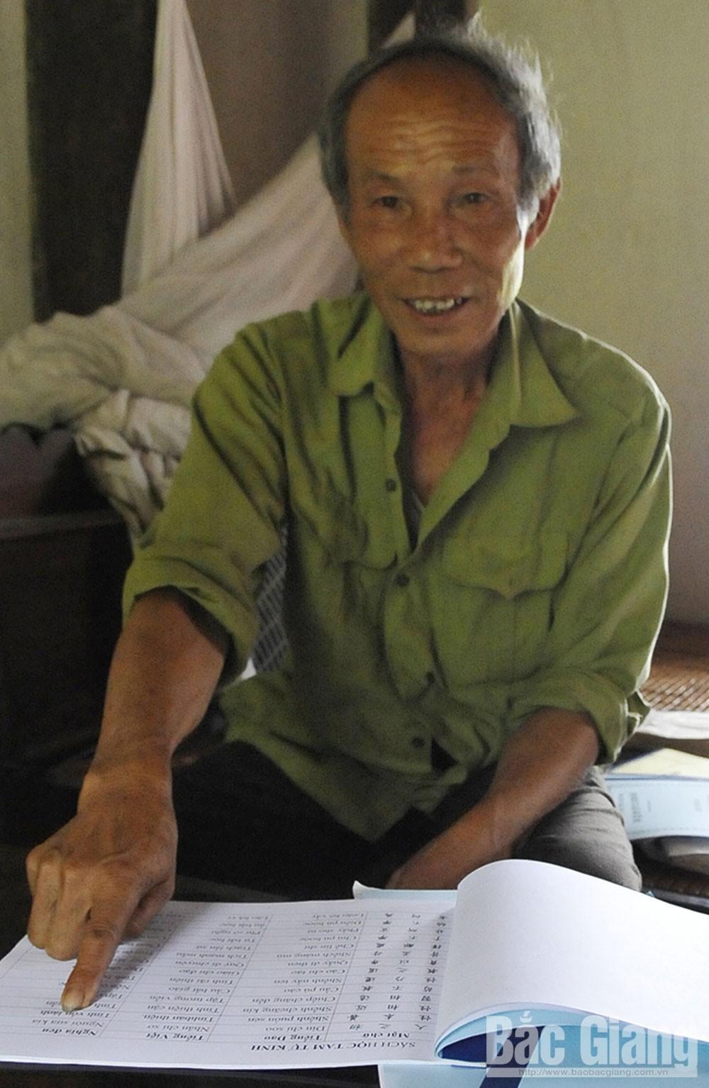 Già làng Bàn Văn Cường, suối nguồn chảy mãi, người Dao