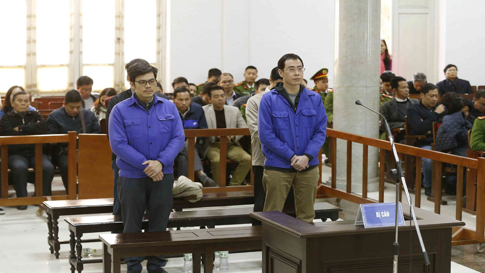 25 năm tù cho 4 bị cáo nguyên là lãnh đạo Công ty Lọc hóa dầu Bình Sơn