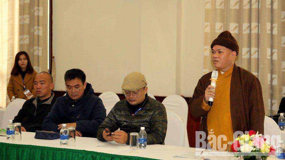 UBND tỉnh Bắc Giang, họp báo, Tuần Văn hóa- Du lịch, Khám phá vùng đất thiêng Tây Yên Tử