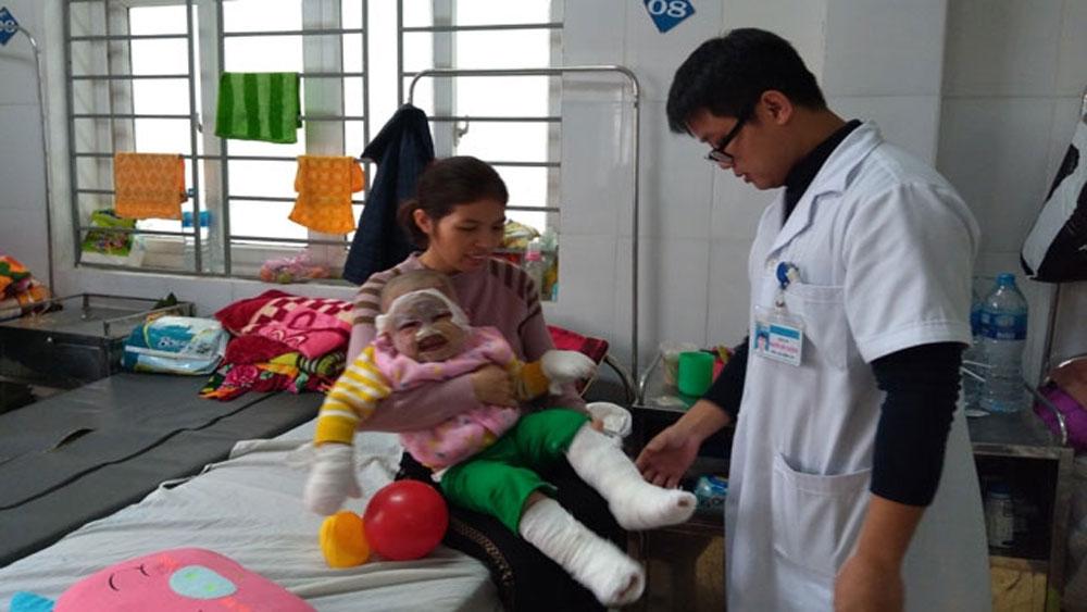Tai nạn pháo nổ khiến 5 người nhập viện tại Nghệ An