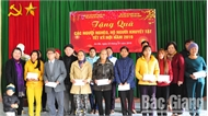 Hơn 60 triệu đồng tặng quà Tết cho hộ nghèo, người tàn tật và trẻ mồ côi