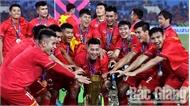 Bóng đá Việt Nam: Một năm đầy thăng hoa