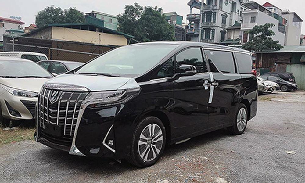 Toyota Alphard 2019, Việt Nam, MPV, chính hãng, đại lý chính hãng, mức giá, công bố