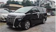 Toyota Alphard 2019 chính hãng về Việt Nam giá hơn 4 tỷ