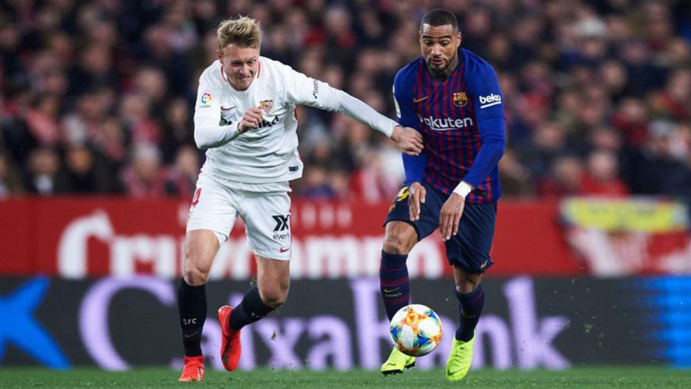 Không Messi, Barca thua thảm Sevilla ở Cúp Nhà Vua