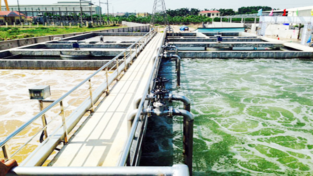 Concentrated waste water treatment system built in Industrial Clusters